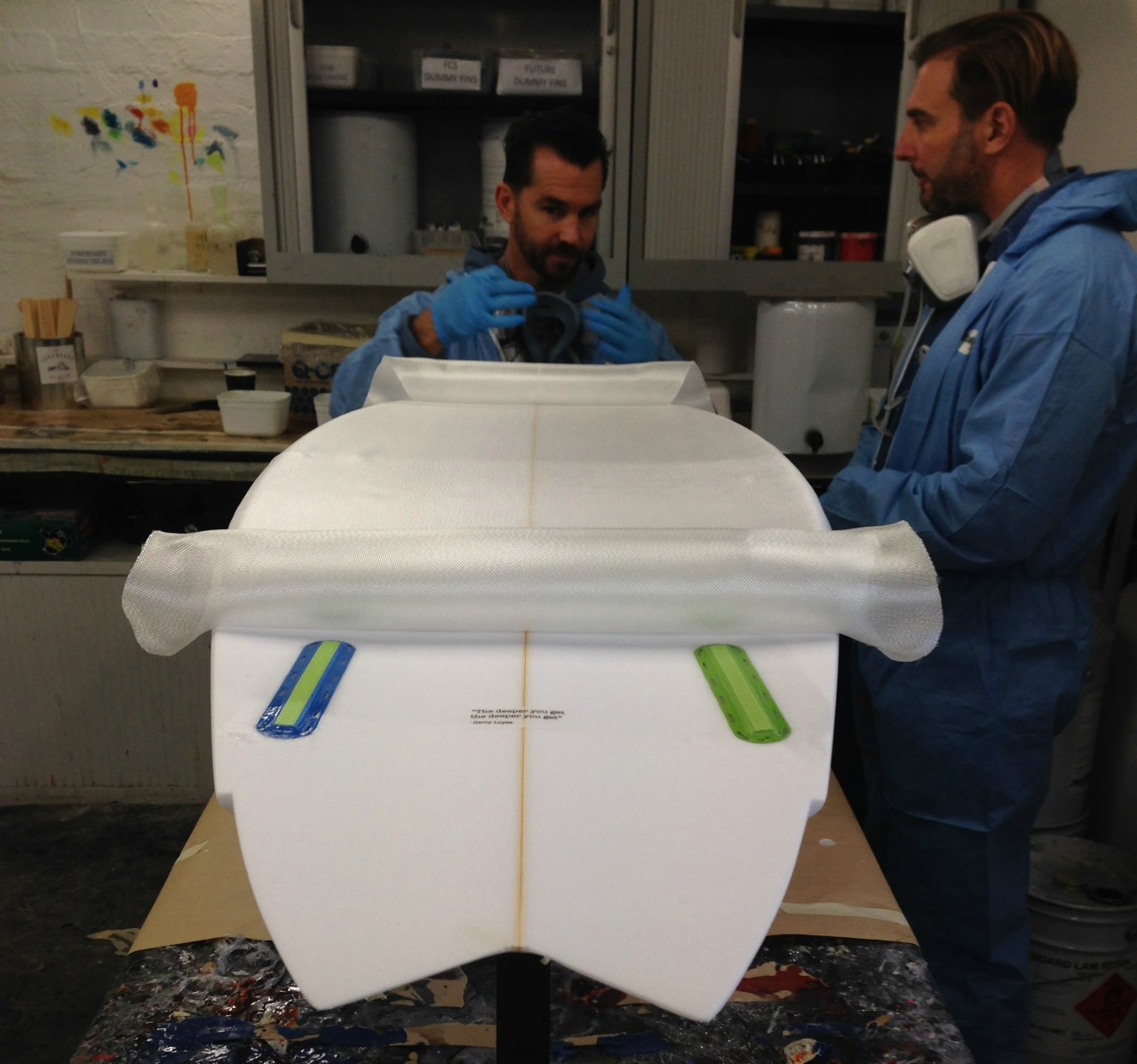 The Surfboard Studio Glassing Course 2