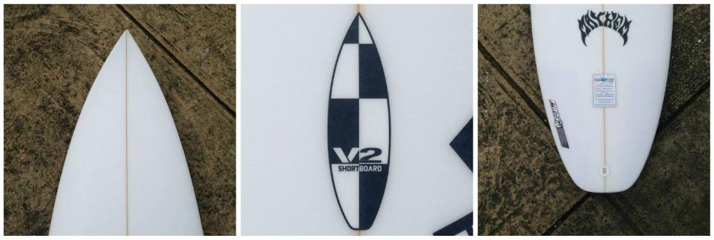 ...Lost V2 Shortboard collage 1