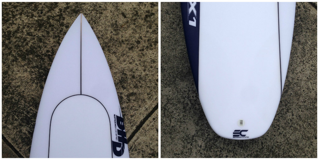 DHD Epoxicore DX1 by Zak Surfboards Collage 1