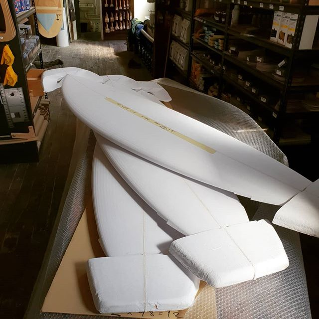 Looks like summer is coming when shops like Zak Surfboards start ordering Fishes. @zaksurfboards