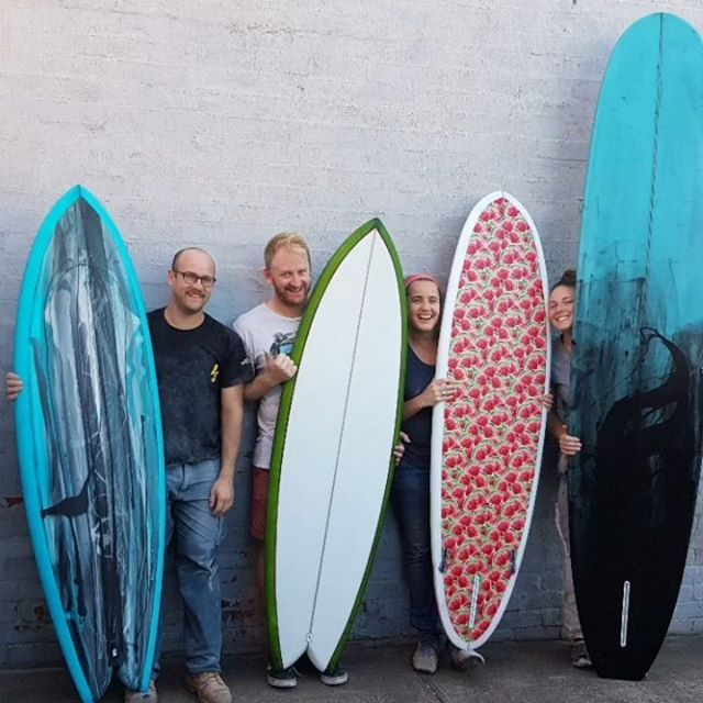 The Surfboard Studio Courses have wrapped up for 2018 and we would like to thank all the crew who gave us the opportunity to share just how much dedication goes into the craft we all love
