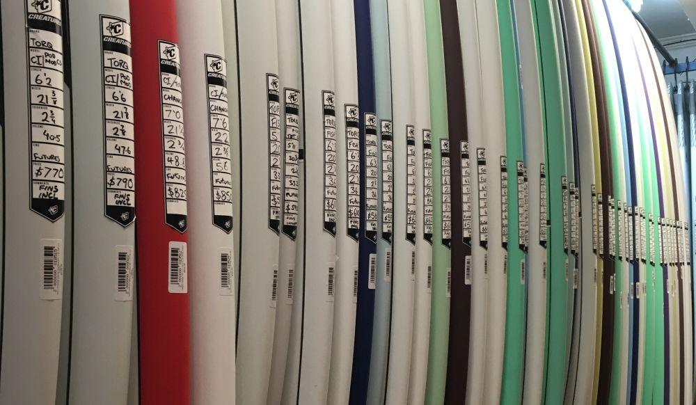 Torq Surfboards Rack image