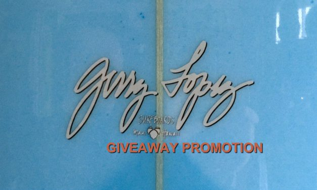 Gerry Lopez Lil' Darlin Giveaway